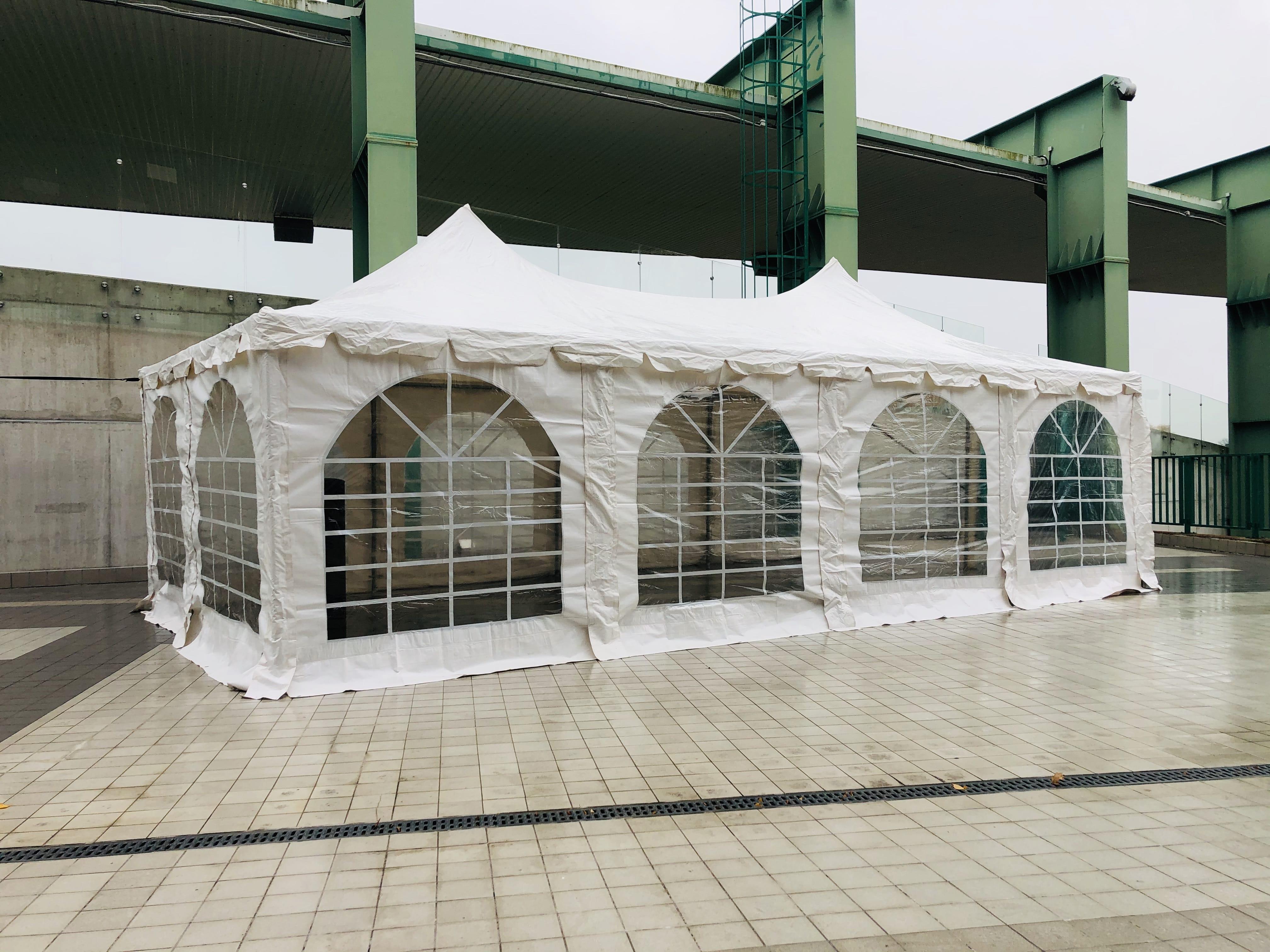 4m x 8m telts noma