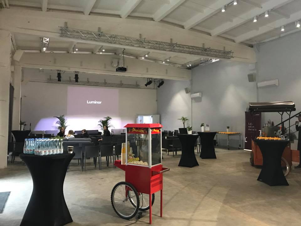 Saldumu aparāti konferences aprīkojums