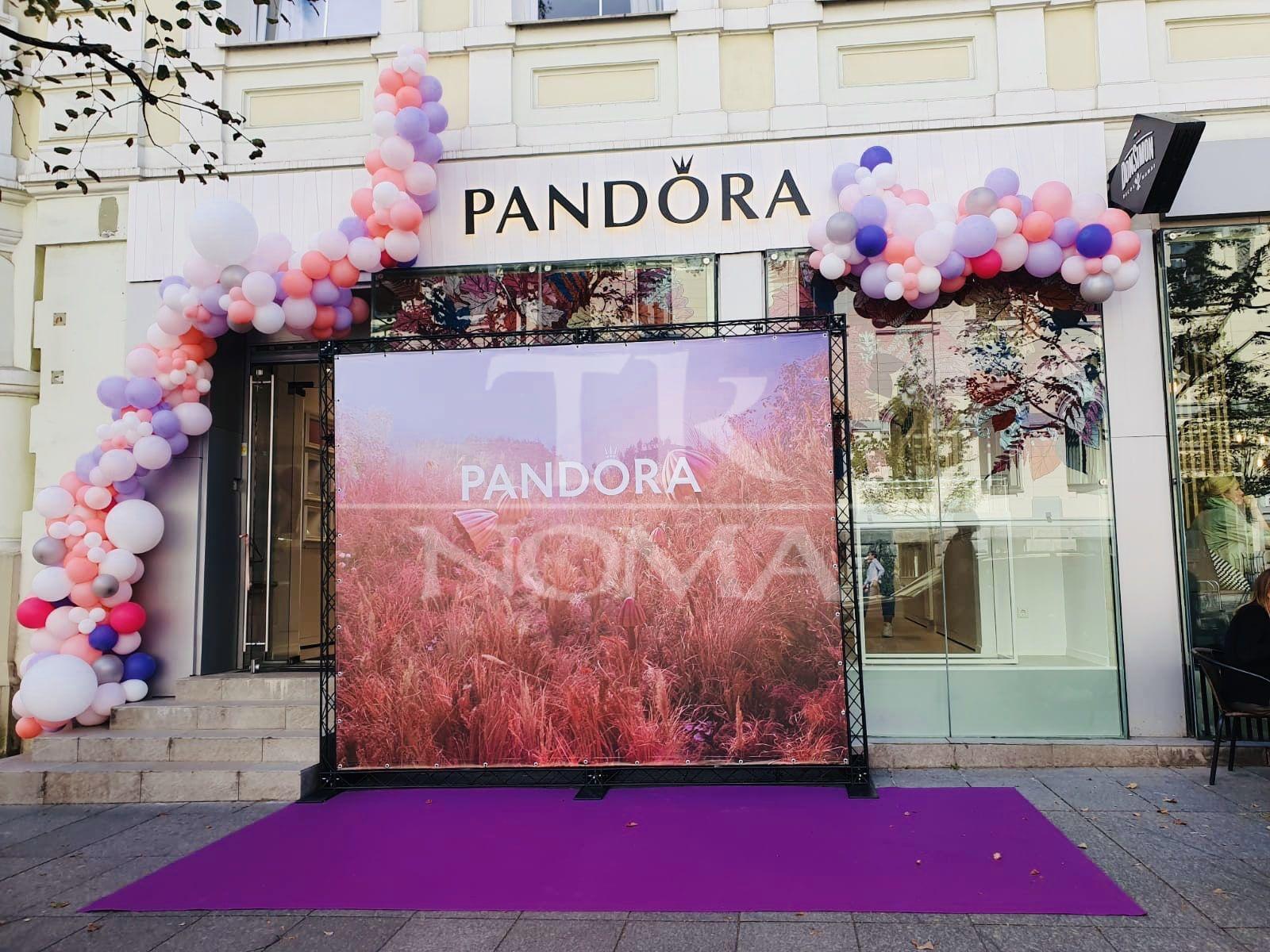 Violets paklājs PANDORA