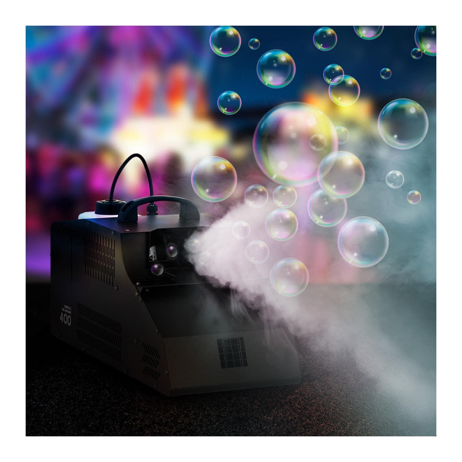 Dūmu un burbuļu mašīna