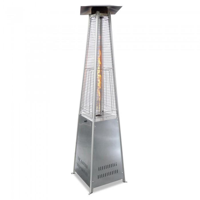 Terases gāzes sildītājs - piramīda