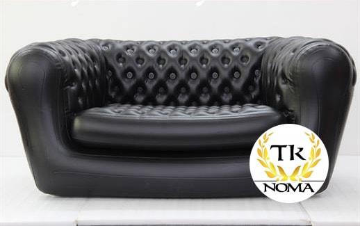 Divvietīgs piepūšamais dīvāns