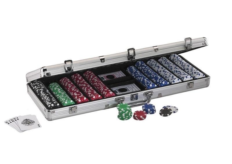 Pokera žetonu koplekts noma