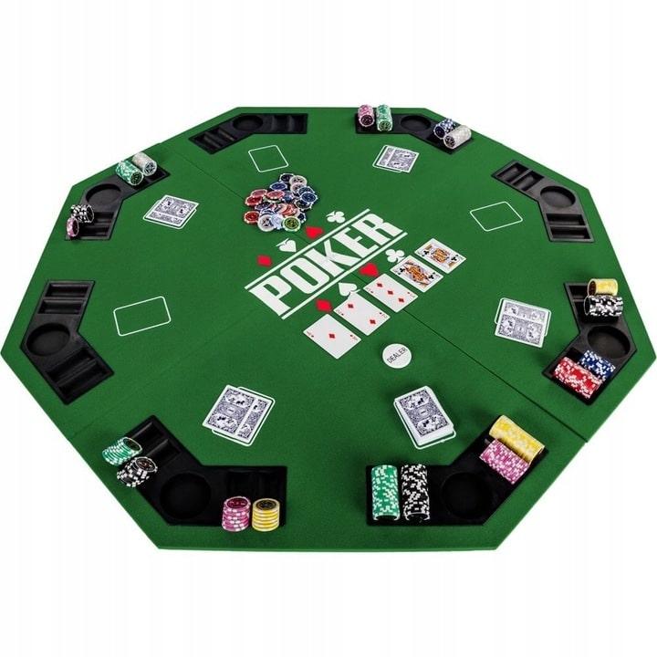 Pokera galda virsma astoņstūris noma
