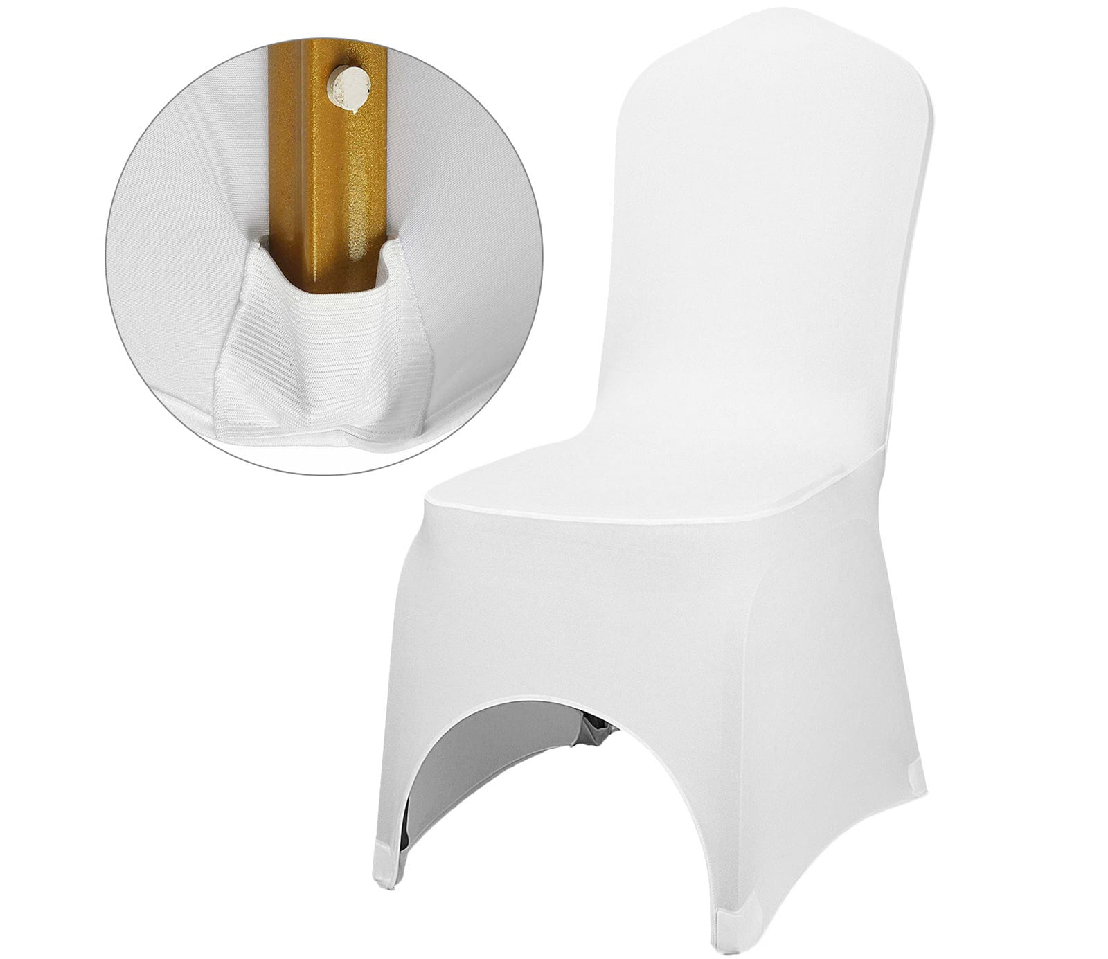Balts krēsla pārklājs